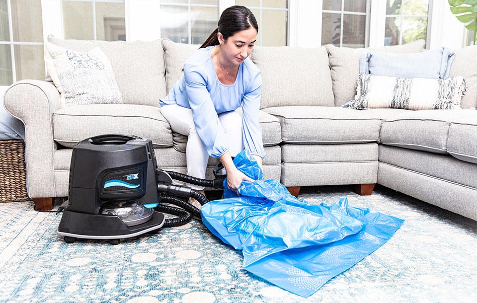 Limpar almofadas